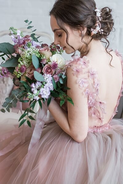 dreamy mauve inspired styled shoot, 20