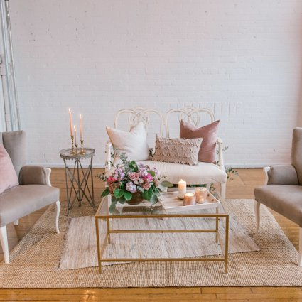 Tufts and Toile featured in An Incredibly Dreamy Mauve Inspired Styled Shoot