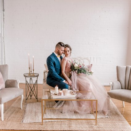 June Bloom Events featured in An Incredibly Dreamy Mauve Inspired Styled Shoot