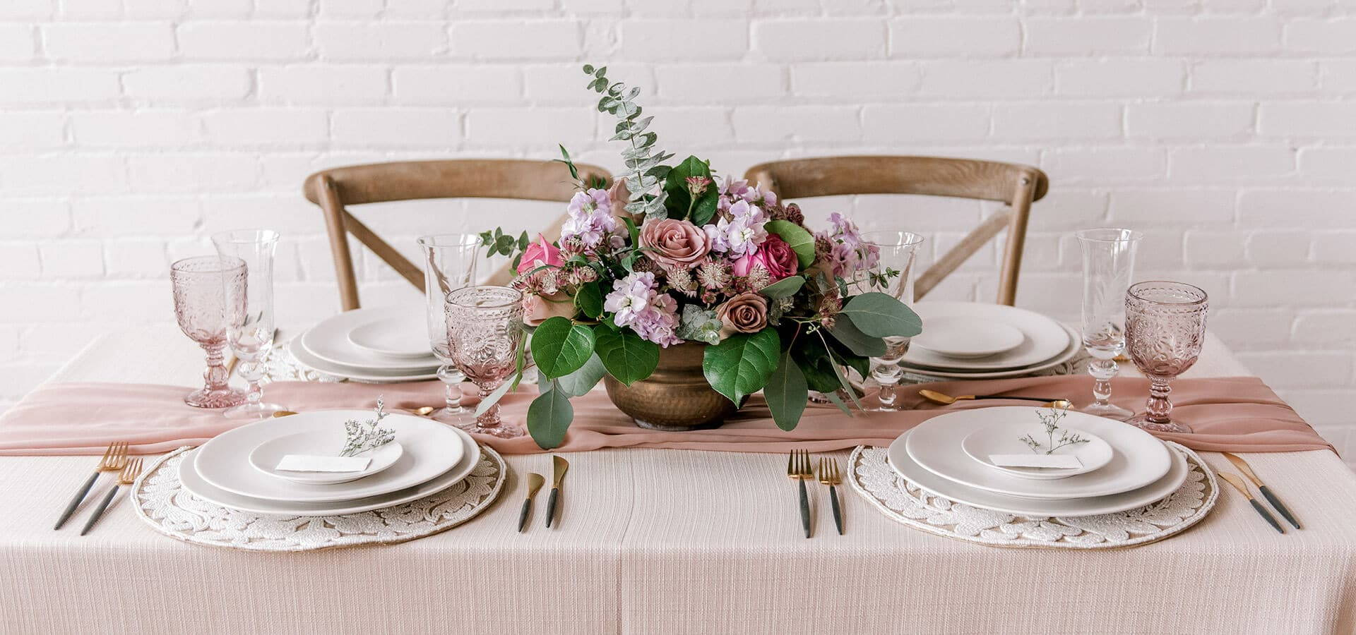Hero image for An Incredibly Dreamy Mauve Inspired Styled Shoot