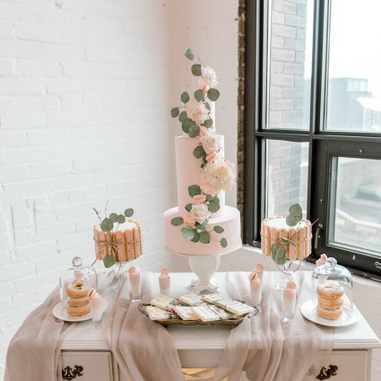 Sweet Regards featured in An Incredibly Dreamy Mauve Inspired Styled Shoot