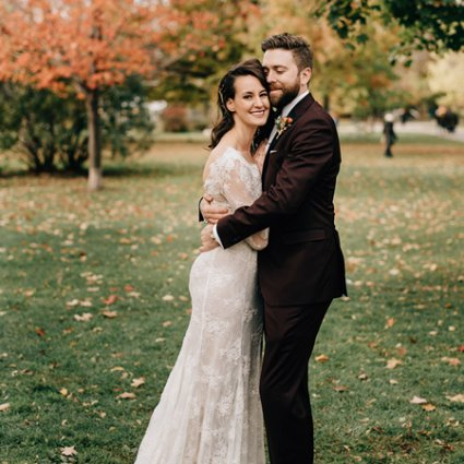 The Beauty Team featured in Sarah and Mike's Boho Chic Wedding at 99 Sudbury