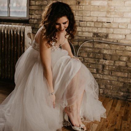 The Bride's Project featured in A Playfully Romantic Style Shoot at The Jam Factory