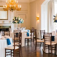 Claudia and Elliot's Elegant Royal Blue Wedding at the Graydon Hall Manor