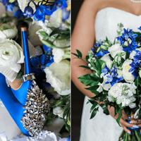 Claudia and Elliot's Elegant Royal Blue Wedding at the Graydon Hall Manor
