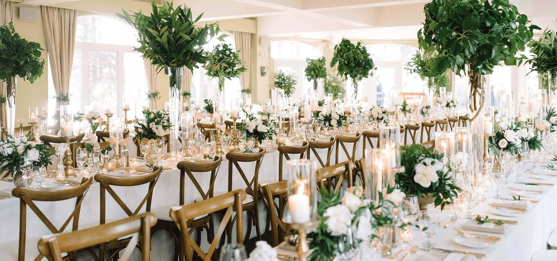 Hero image for Elynn and Joe's Elegant Garden Wedding at the Sherwood Inn
