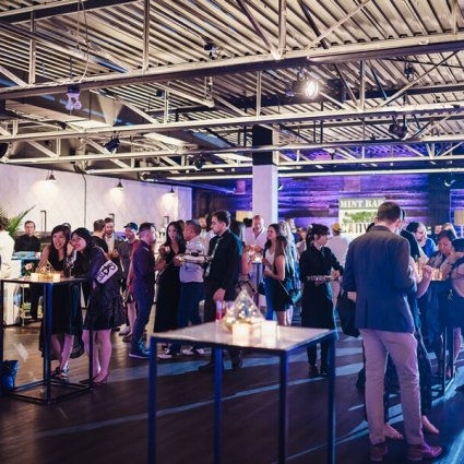MB Designs Inc | Decor Rentals featured in A Tasty Open House at Canvas Event Space