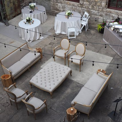 Alton Mill Arts Centre featured in EventSource's Definitive Patio Guide for Special Events in To…