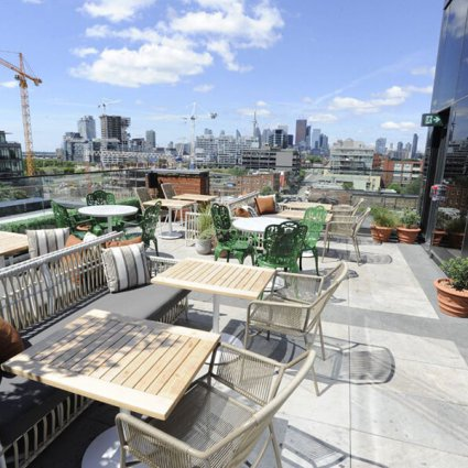 The Broadview Hotel featured in EventSource's Definitive Patio Guide for Special Events in To…
