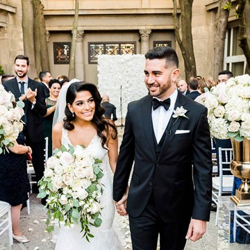Dalia and Cameron's Elegant Liberty Grand Wedding