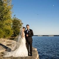 Dalia and Cameron's Elegant Liberty Grand Wedding