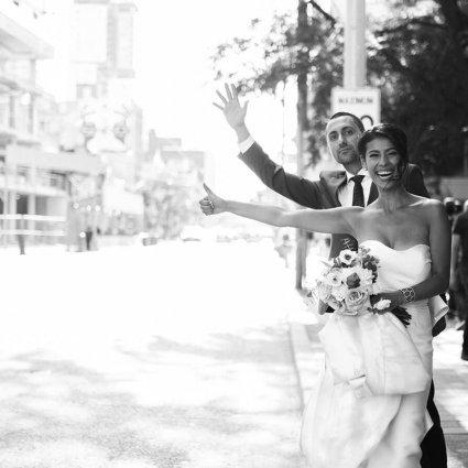 Thumbnail for Carolina and Brian's City Chic Wedding at The Burroughes