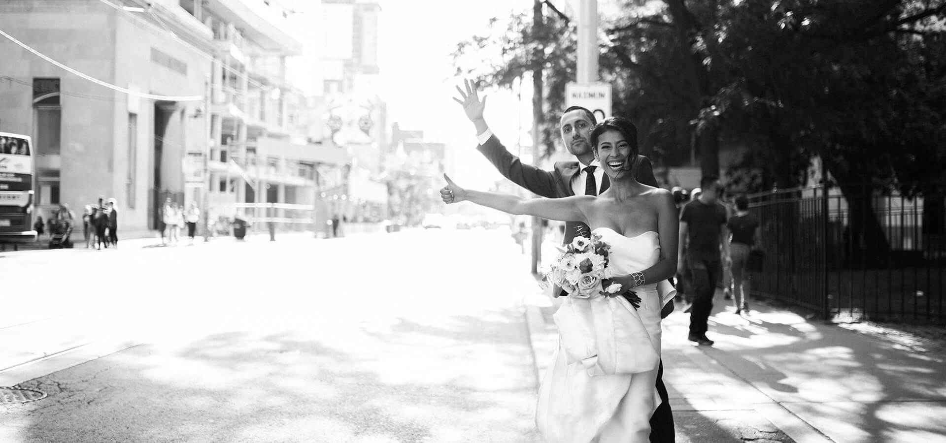 Hero image for Carolina and Brian's City Chic Wedding at The Burroughes