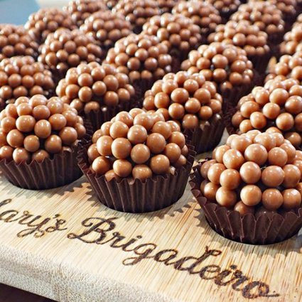 Mary's Brigadeiro featured in 10 Unique Specialty Dessert Ideas For Your Next Special Event