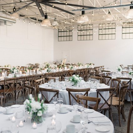 Siren Designs featured in Kwan Yu and Jimmy's Simple-Yet-Stylish Wedding at Airship 37