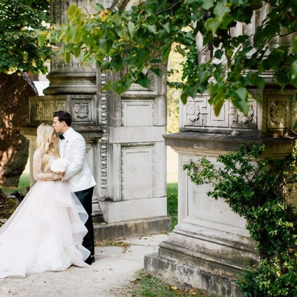 The Guild Inn Estate featured in Shiry and Gabe's Romantic Wedding at the Guild Inn Estate