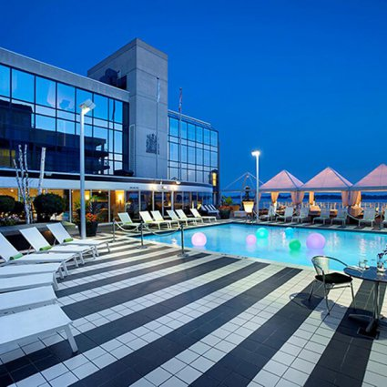 Radisson Admiral Hotel - Toronto Harbourfront featured in EventSource's Definitive Patio Guide for Special Events in To…