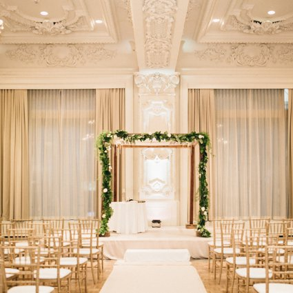 The King Edward Hotel featured in Daniel and Jonathan's Classically Elegant Big Day at the King…