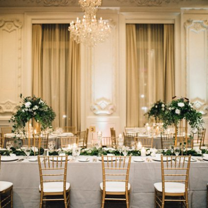 Have a Seat featured in Daniel and Jonathan's Classically Elegant Big Day at the King…