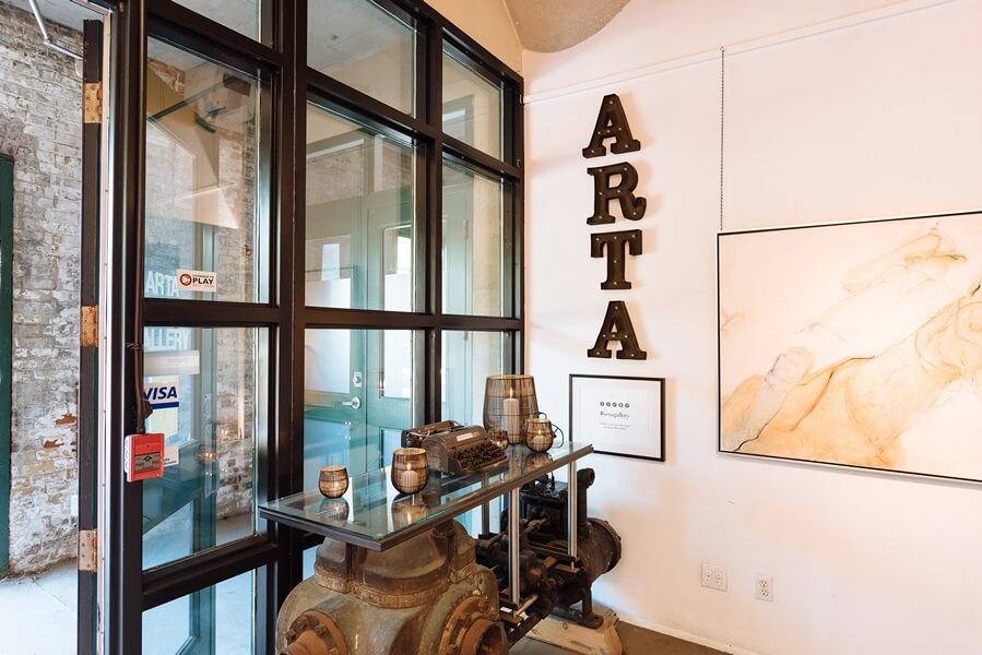 arta gallery open house, 1