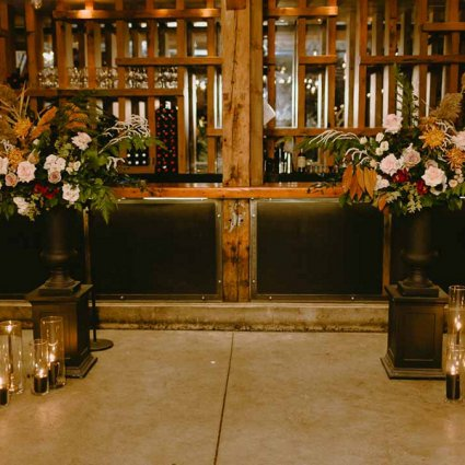 Blue Lavender Events featured in Bec and Jen's Romantic Intimate Wedding at Archeo