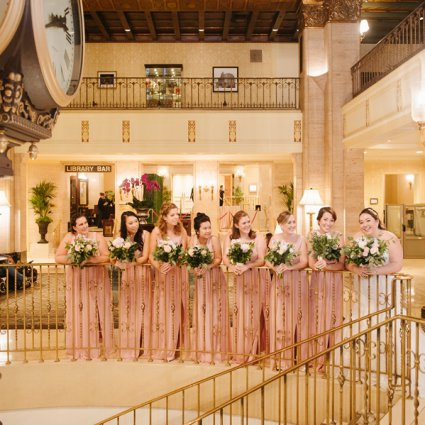The Fairmont Royal York featured in Theresa and Michael's Classically Elegant Wedding at The Fair…