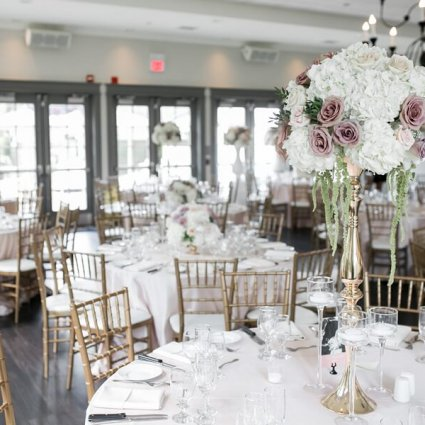 """La Chic Soiree featured in Nicole and Adam's """"Chic Soiree"""" at The Doctor's House"""