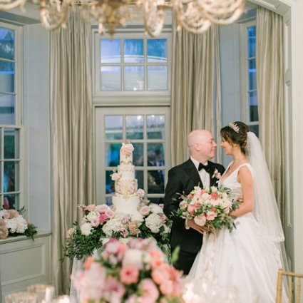 Nadia and Co featured in Lena and Matt's Super Sweet Wedding at Graydon Hall