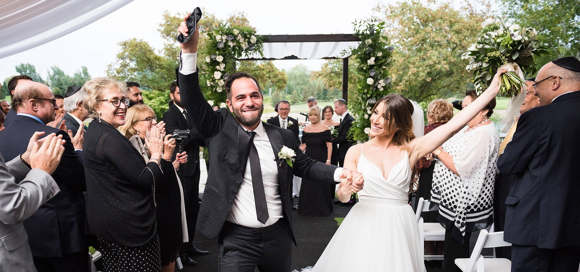 Hero image for Nicole and Shaaron's Modern-yet-Rustic Wedding at The Manor