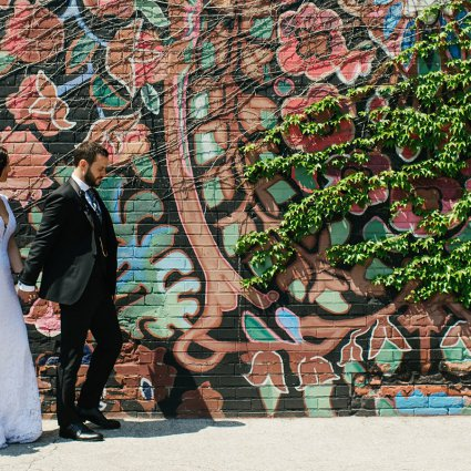 Thumbnail for Jayme and Kyle's Modern City Wedding at 99 Sudbury