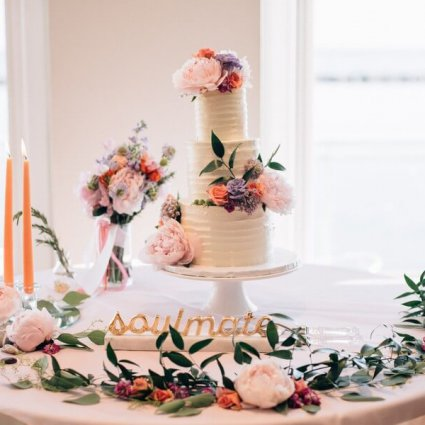 Bite Me Bakery featured in Margo and Jacob's Sweet Wedding at The Henley Room