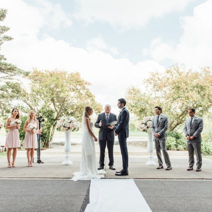 The Manor featured in Kasia and Kiarash's Romantic Wedding at The Manor