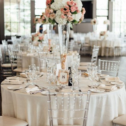 Creations by Gitta featured in Kasia and Kiarash's Romantic Wedding at The Manor