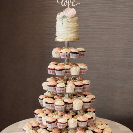 Cakeity Cakes featured in Kasia and Kiarash's Romantic Wedding at The Manor