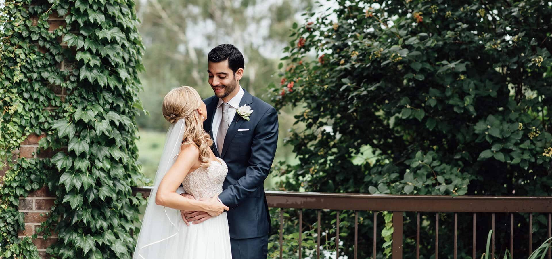 Hero image for Kasia and Kiarash's Romantic Wedding at The Manor