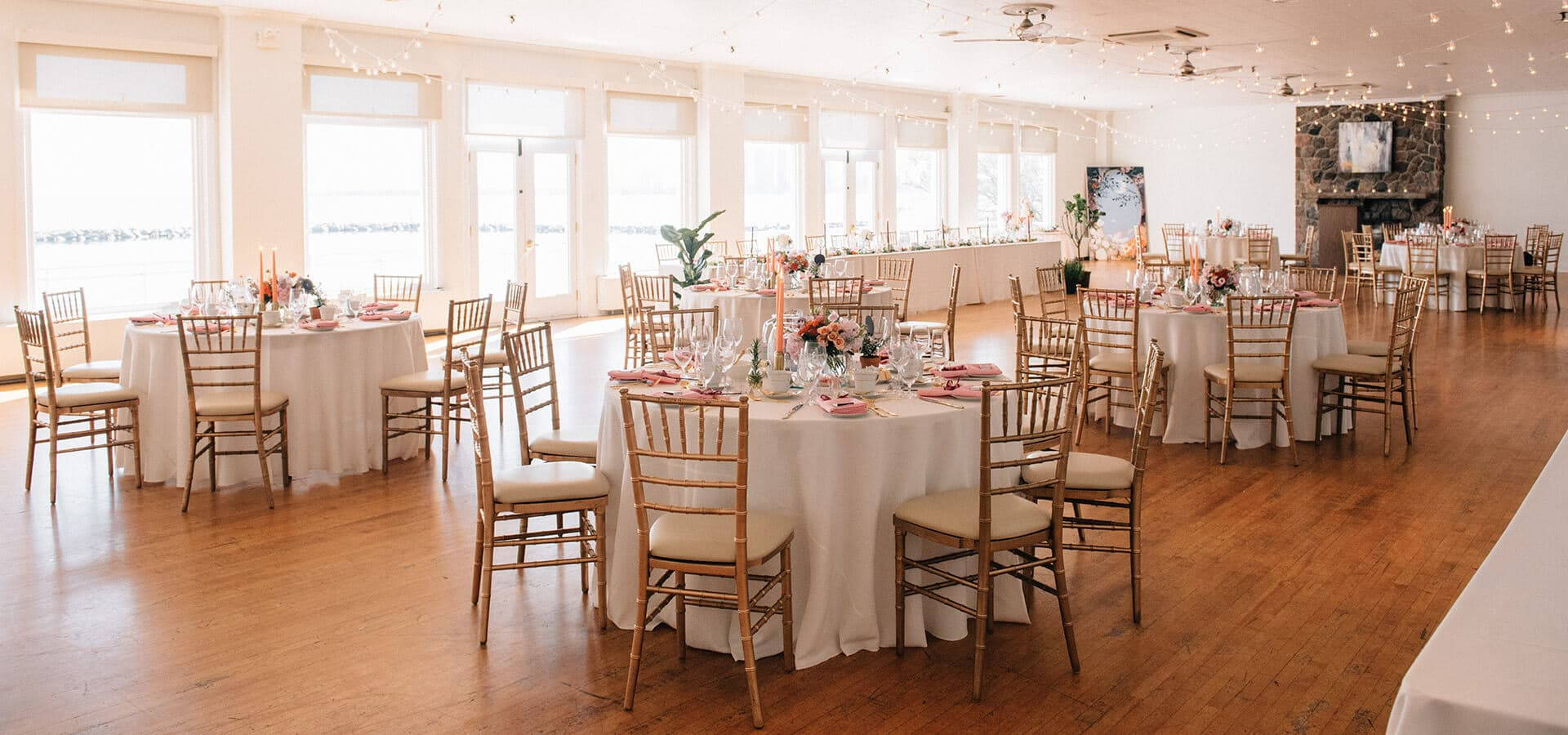 Hero image for Margo and Jacob's Sweet Wedding at The Henley Room