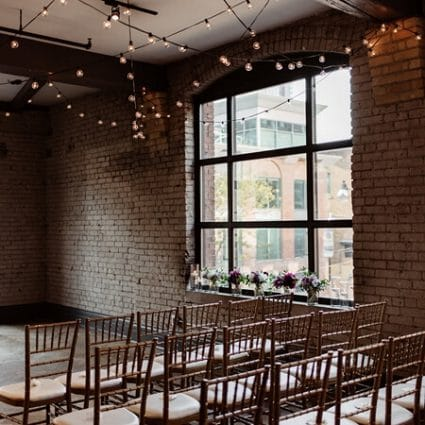 Storys Building featured in Nicole and Nate's Ultra Sweet Wedding at the Storys Building