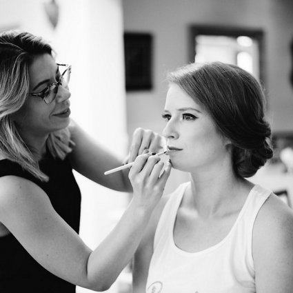 Toronto Beauty Group featured in Nicole and Nate's Ultra Sweet Wedding at the Storys Building