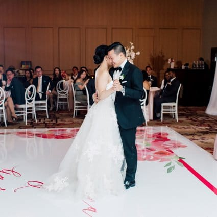 Event Graffiti featured in Monica and Garros' Glam Modern Day Wedding at the Shangri-La