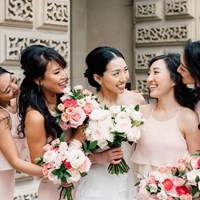 Monica and Garros' Glam Modern Day Wedding at the Shangri-La
