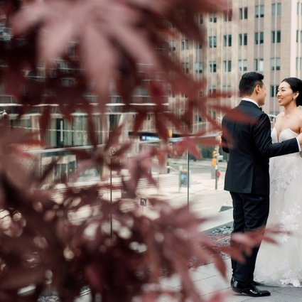 Shangri-La Hotel, Toronto featured in Monica and Garros' Glam Modern Day Wedding at the Shangri-La