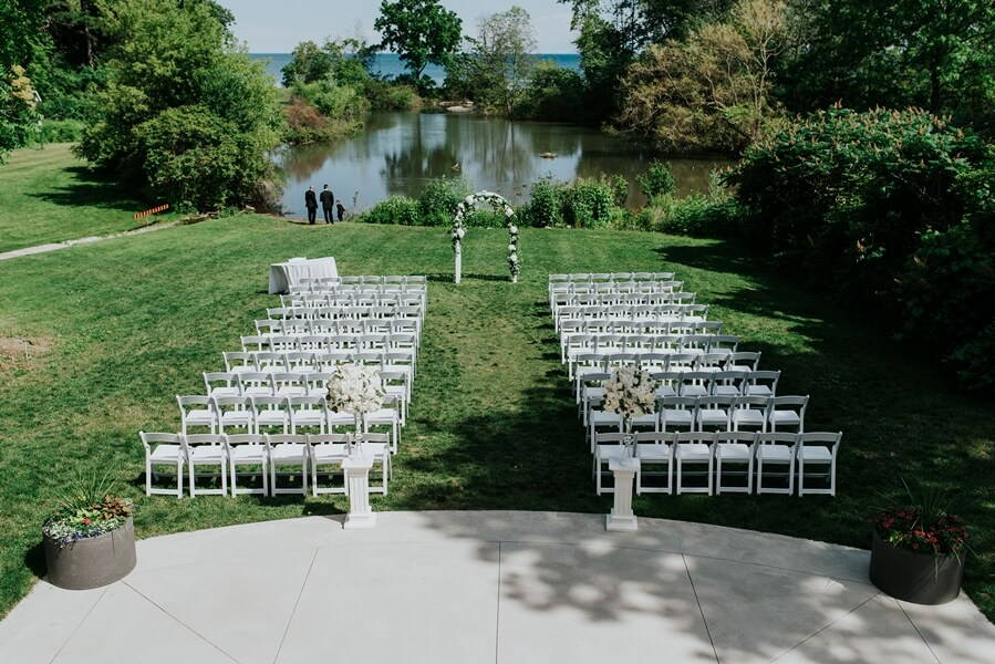 Harding Waterfron Estate Outdoor Wedding Venue