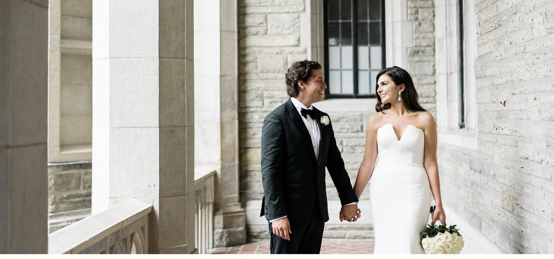 Hero image for Samantha and Adam's Dream Wedding at Casa Loma