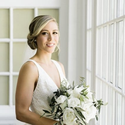 Bridal Hair Collective featured in Julie and Darren's Perfect Summer Wedding at the Royal Canadi…