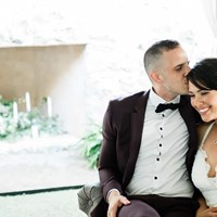 Calliope and Jacob's Intimate Wedding at Knollwood Golf and Country Club
