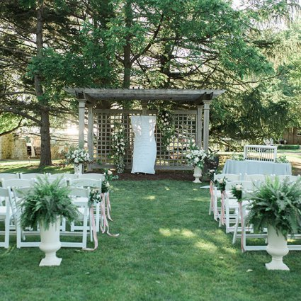 Warehouse 84 featured in Calliope and Jacob's Intimate Wedding at Knollwood Golf and C…