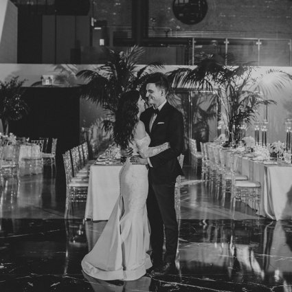 The Symes featured in Carly and Jordan's Elegant Garden Affair at The Symes