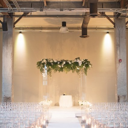 Ashley Pigott Events featured in Carly and Jordan's Elegant Garden Affair at The Symes