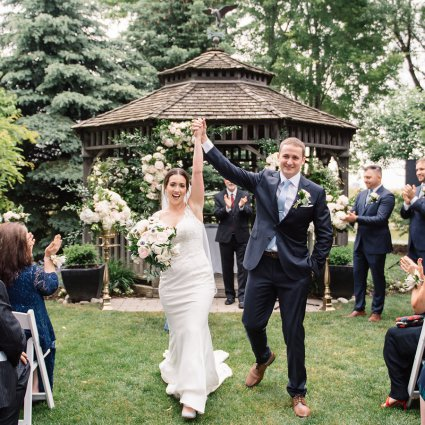 Thumbnail for Heather and Greg's Intimate Wedding at the Piper's Heath Golf…