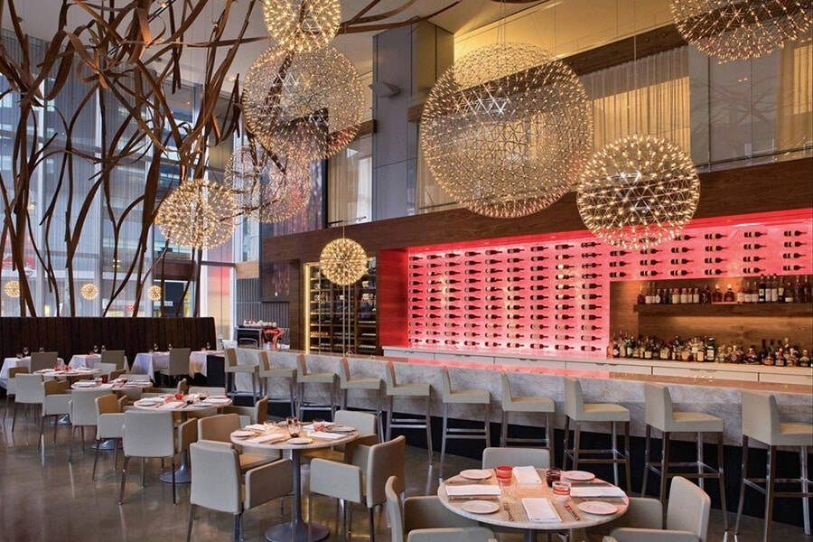 12 restaurants for office holiday party, 17